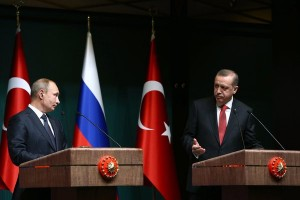 Putin discusses future of pipeline with Erdogan