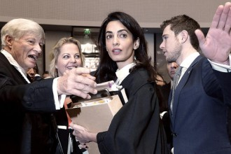 Amal Clooney Barrister