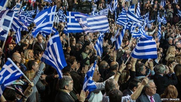 greek flags